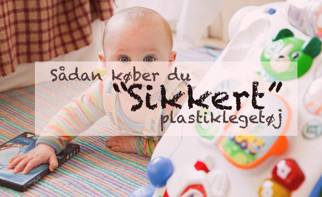 sikkert plastiklegetøj